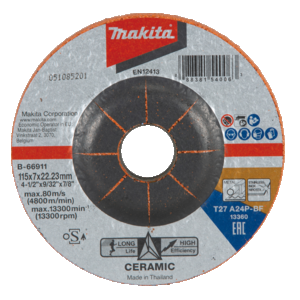 115MM CERAMIC GRAIN DISC A24P